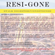 Resi-Gone (Price per Oz.)