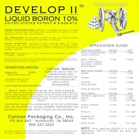 DEVELOP II (10% LIQUID BORON)