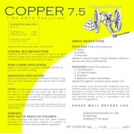 COPPER 7.5 (7.5% LIQUID Cu EDTA)